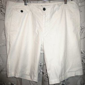 DOCKERS Men's Casual Shorts Size 38 Pure White